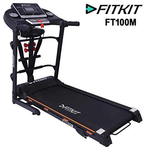 Fitkit FT100 series Motorized Treadmill with Services
