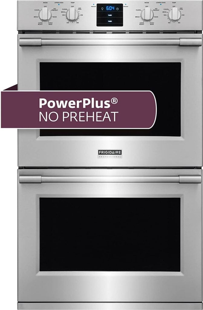 Frigidaire Professional FPET3077RF 30 Inch Stainless Steel Electric Double Wall Convection Oven