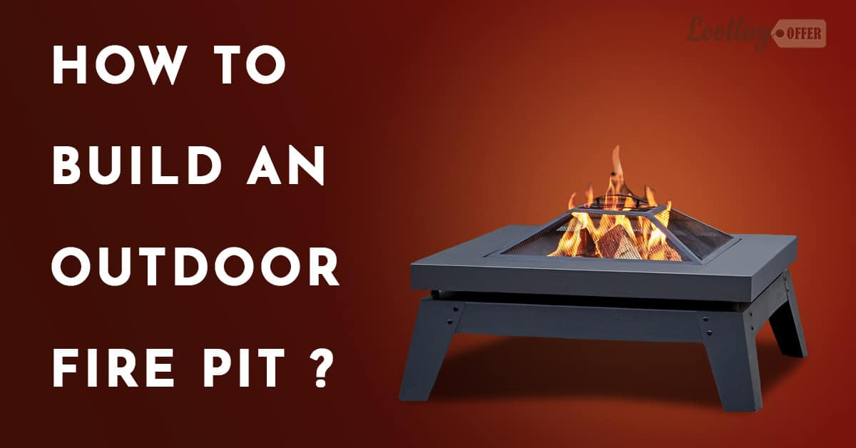 how to build an outdoor firepit
